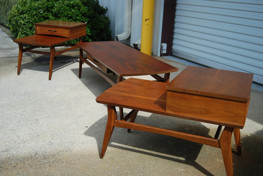 the design enthusiast vintage love mersman tables awesome