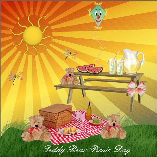 July 2016 Teddy Bear Picnic Day