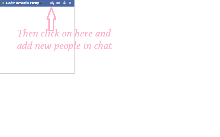 how to create group chat in facebook in computer