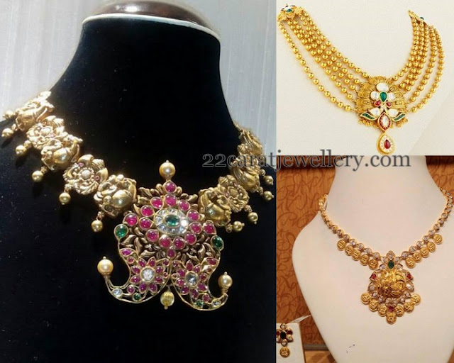 Traditional Lakshmi Necklaces
