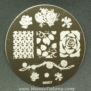 Messy Mansion stamping plate MM07