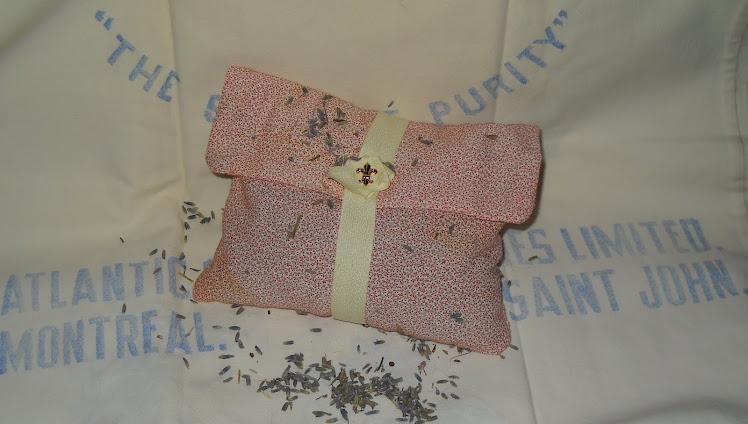 Vintage Fabric Lavender Sachet