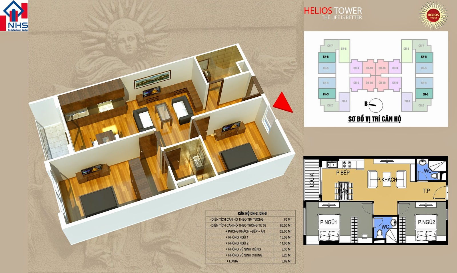 Căn 03 06 Helios Tower 75 Tam Trinh