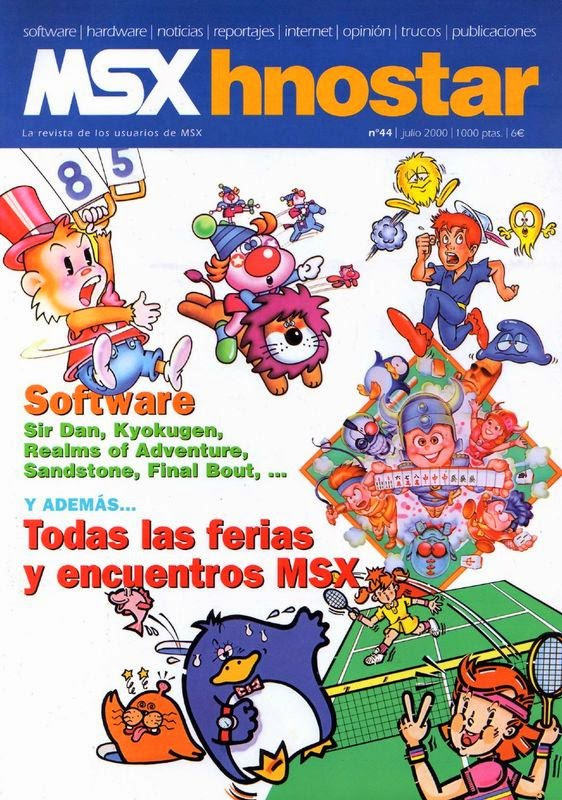 Club MSX Hnostar, nueva revista disponible