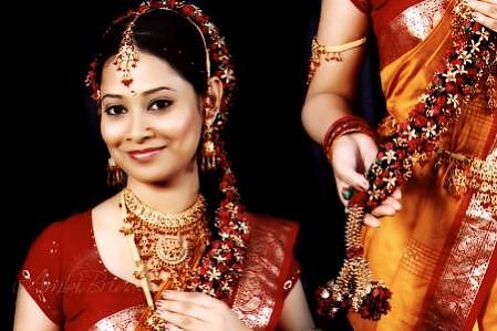 South indian bridal hair style - Part 5