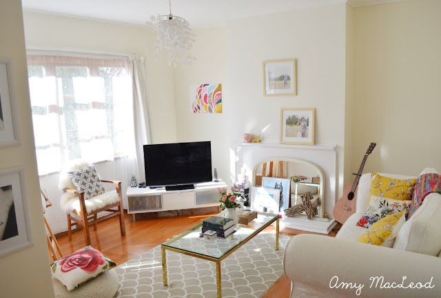 Amy's colourful, fresh abode // Amy MacLeod - Five Kinds of Happy blog