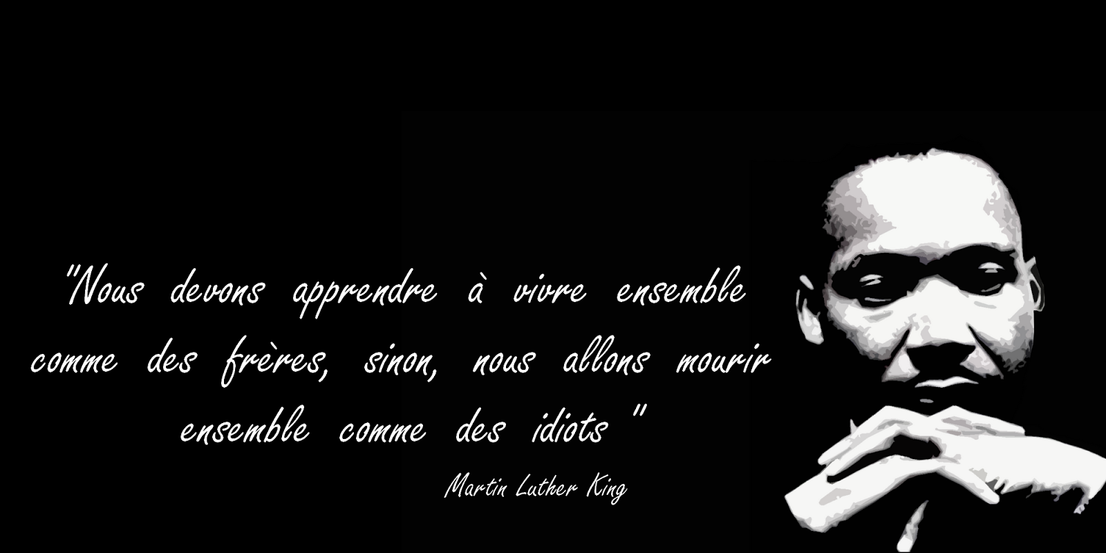 citation savoir vivre de Martin Luther King