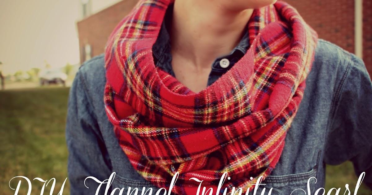 Rachel S Nest Diy Flannel Scarf
