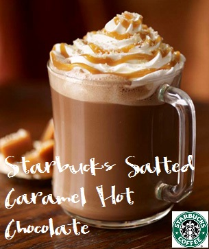 "Starbucks"" Salted Caramel Hot Chocolate - One Good Thing by Jillee"