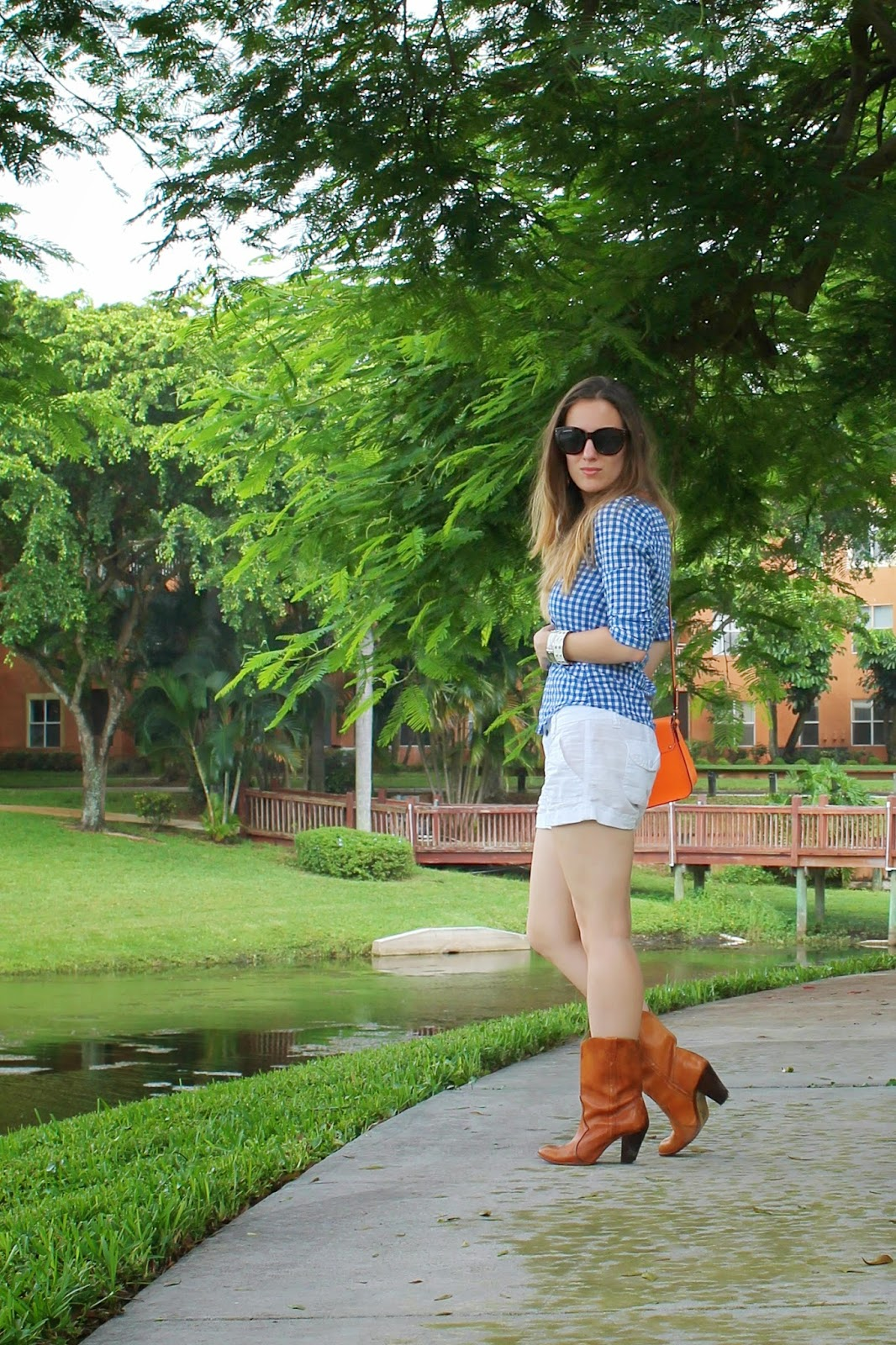 University of Florida, Gators, game day style, outfit ideas, Abercrombie & Fitch, Nordstrom, consignment, Target, Kate Spade, fashion blog, style blog, fashion, style, preppy, southern, cowboy boots, plaid, fall fashion, Swatch