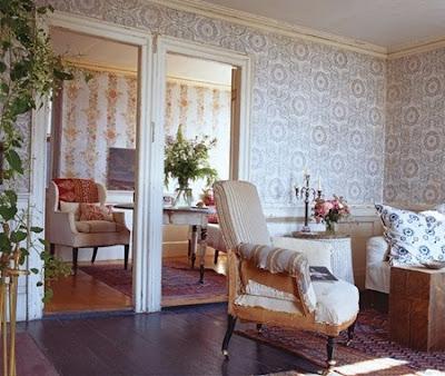 salas estilo vintage