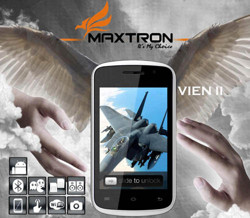 Maxtron Vein II, Smartphone Android Rp500 Ribuan