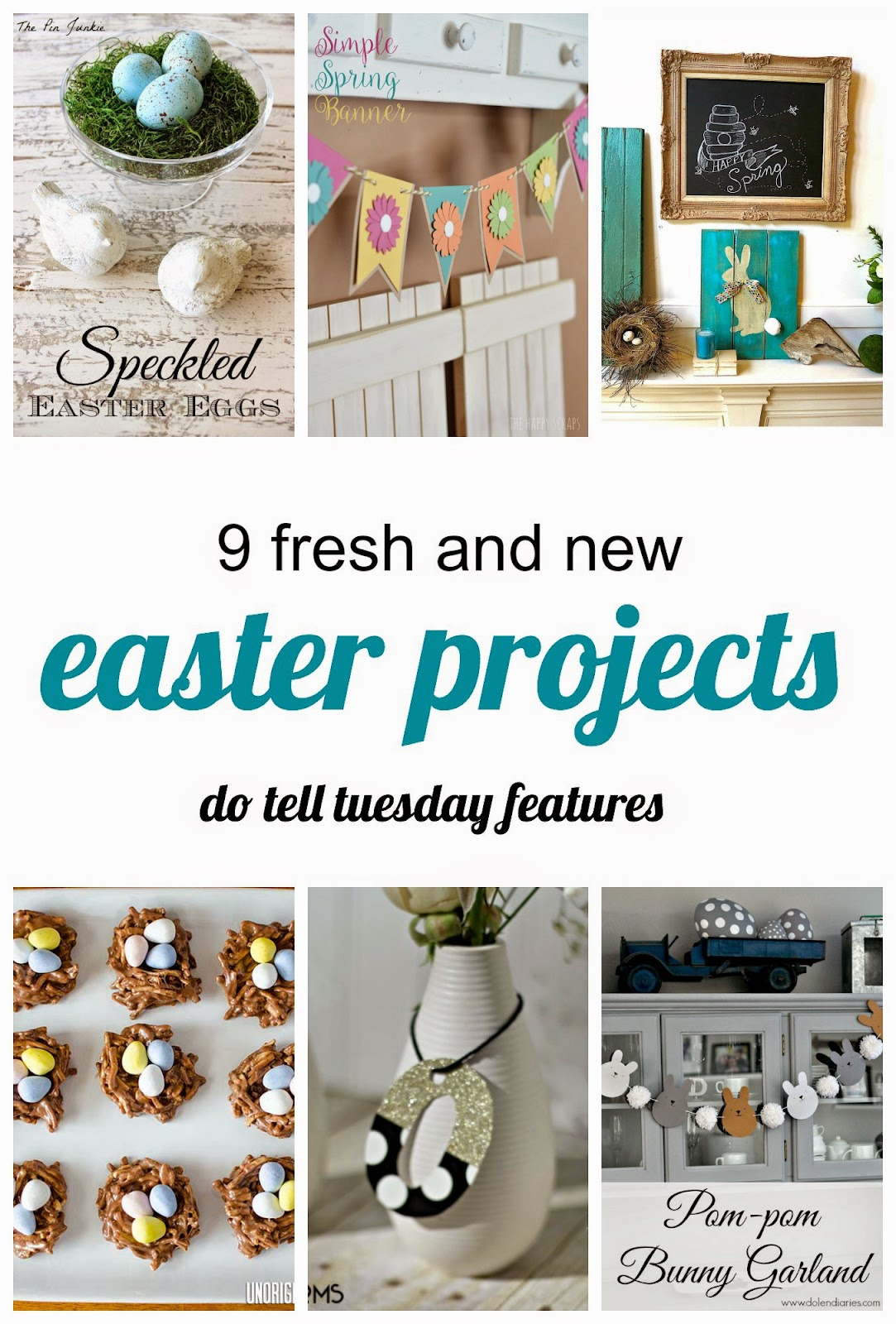 Fresh & New Easter Projects on Diane's Vintage Zest!