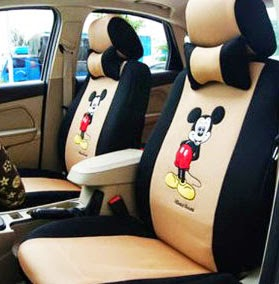 Mickey mouse car seat covers image