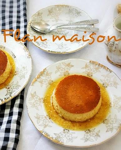 Mangez tunisien flan maison - Flan de maison ...