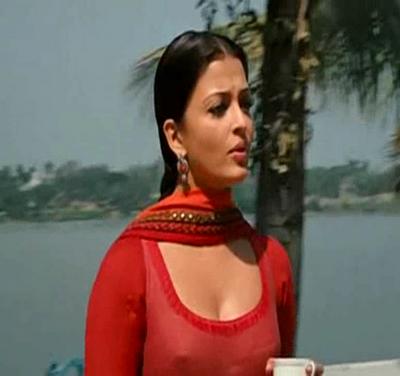 Bollywood Actress Aishwarya Rai Nipple Slip Rare Cleavage Photos wallpapers