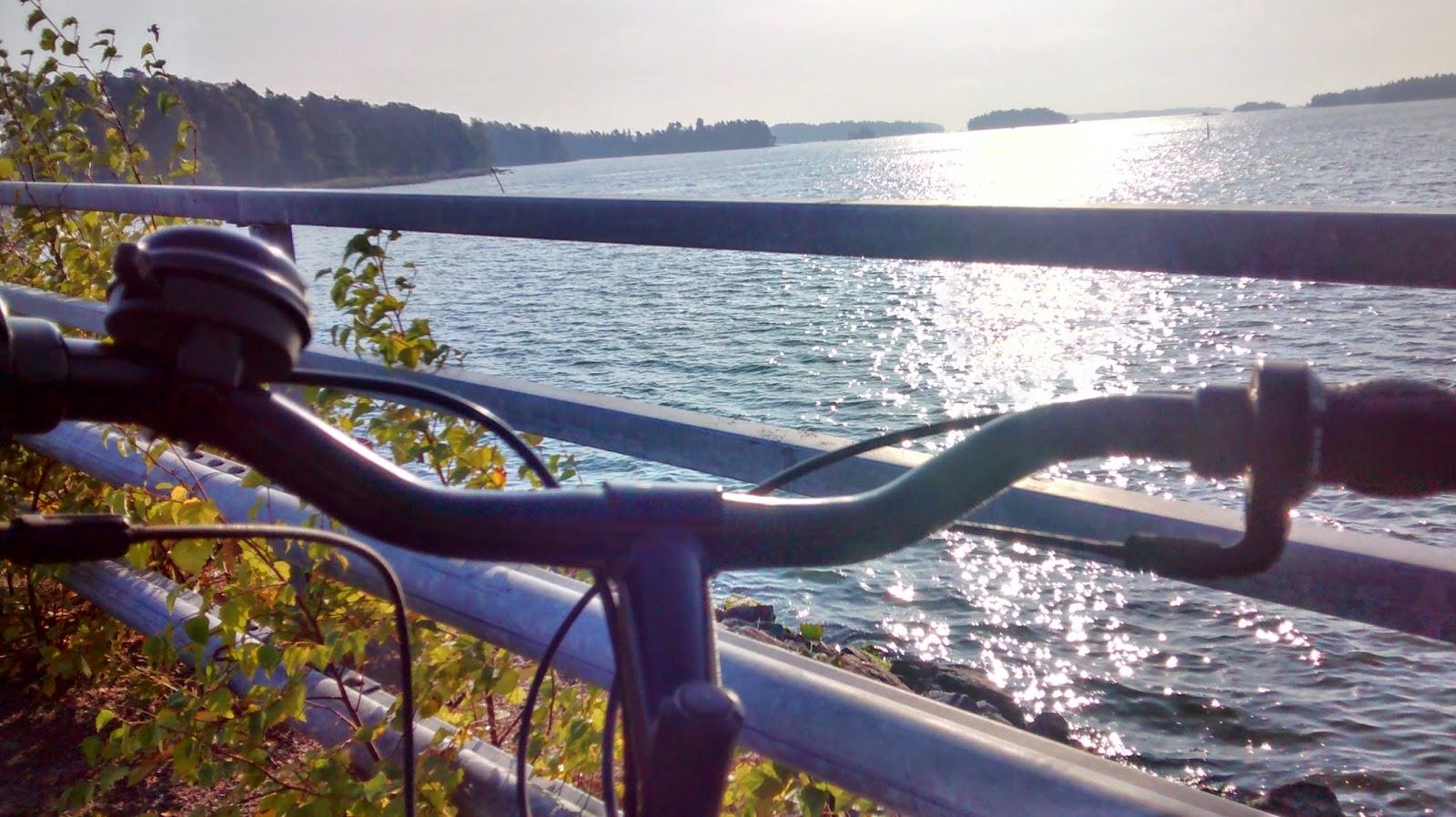 Ciclofaixas na Finlândia