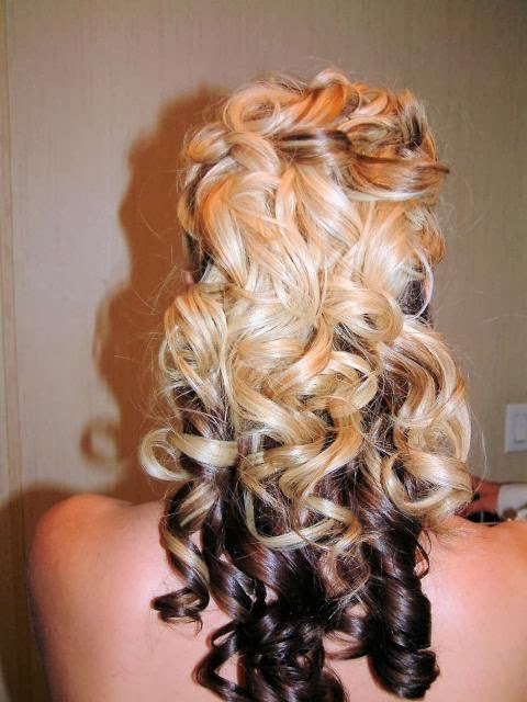wedding hairstyles for curly hair Long Curly Hairstyle Curly Wavy