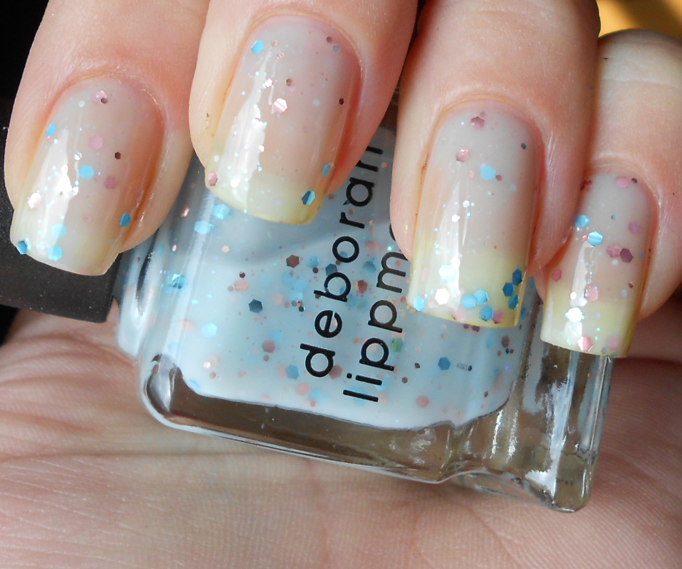 The Sugar Cube: Deborah Lippmann - Glitter in the Air