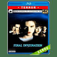 Destino final (2000) 4K UHD Audio Dual Latino-Ingles