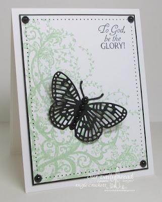 ODBD Belles Vignes, ODBD Glory, ODBD Fancy Fritillary Dies, Card Designer Angie Crockett