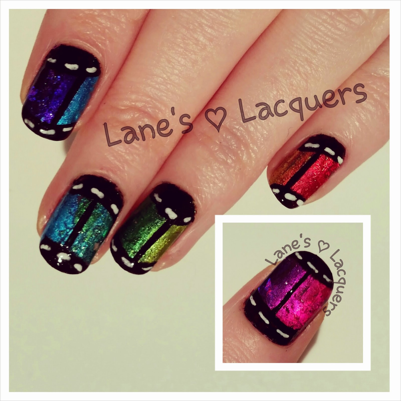 rainbow-foil-film-roll-freehand-nail-art (2)