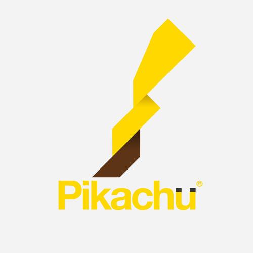 Logo basado en el personaje Pokémon Pikachu