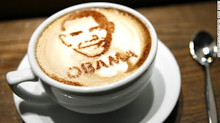 Obama cafe latte style, cafe latte painting, cafe latte, drink cafe latte, coffee, Italian coffee, Italian art of coffee