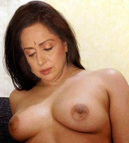 Hema Malini Showing Her Nude Big Boobs