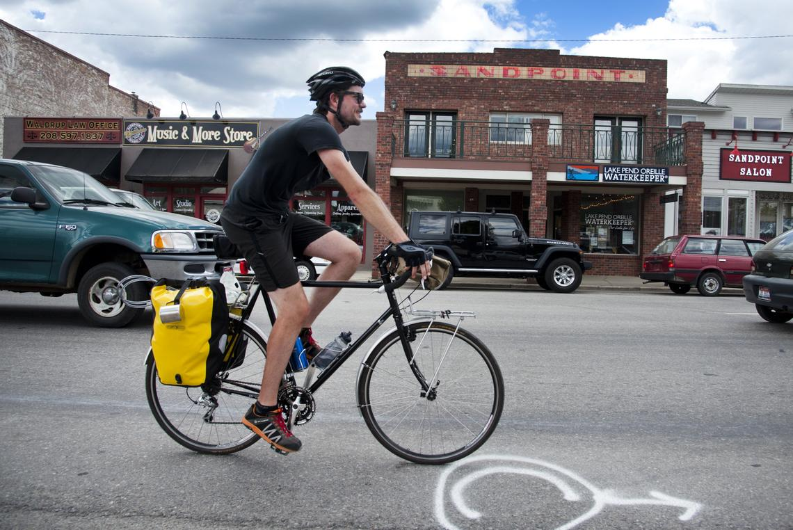 the new u s bicycle route 10 across washington state from anacortes to sandpoint id in a recent article he talks about the ride about how people were