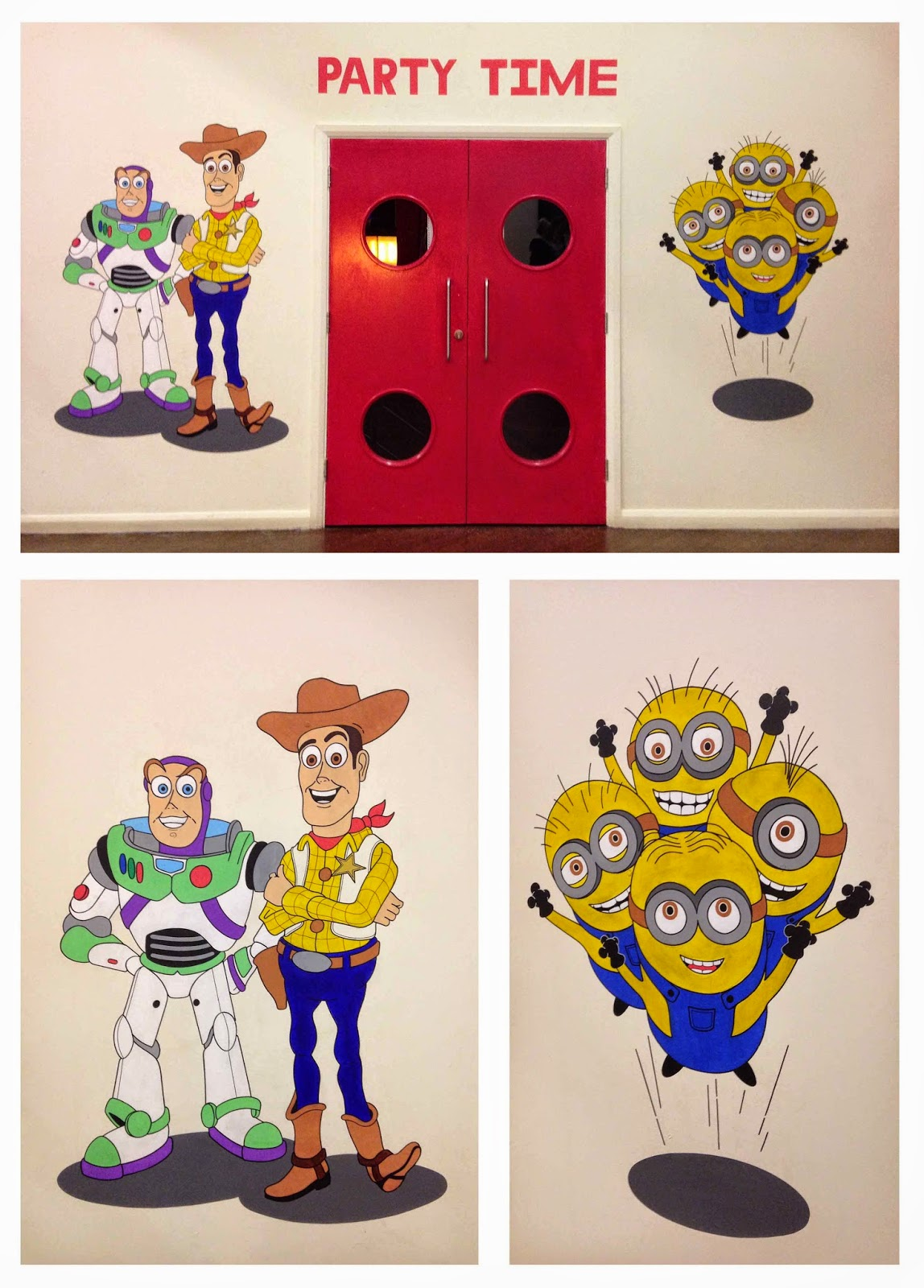 Ollie stone illustration by ollie stone murals signage wall art giant wall mural toy story and minions amipublicfo Image collections