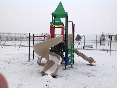 playground-snow