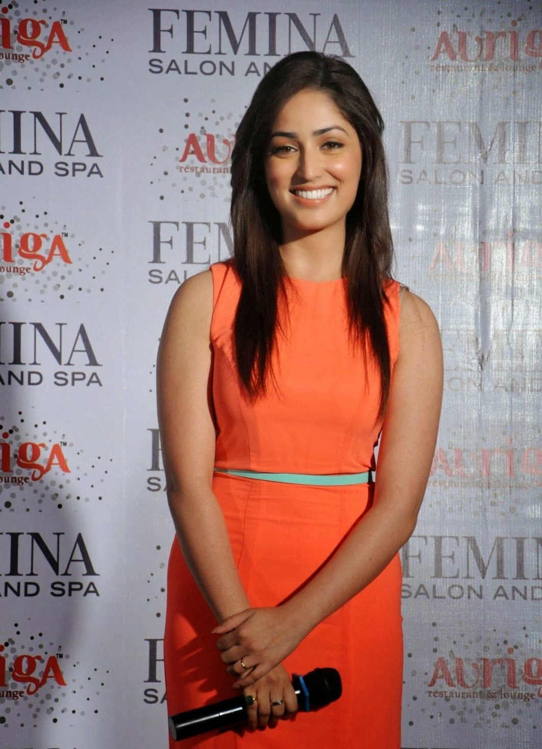 Actress, Bollywood, Bollywood actress, Entertainment, FEMINA, India, Launch, Magazine, Mumbai, Salon, Showbiz, Spa, Yami Gautam, Yami Gautam Pictures,