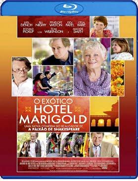 Filme Poster O Exótico Hotel Marigold BDRip XviD Dual Audio & RMVB Dublado