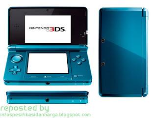 Harga Nintendo 3DS Game Console Terbaru 2012