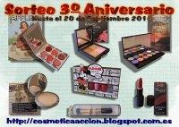 Sorteo Tercer Aniversario Blog