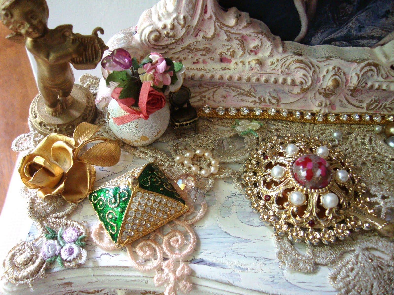 ShabbyChicJCouture My Marie Antoinette Vanity
