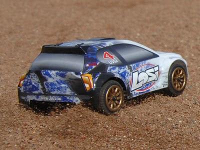 Micro Rally sur terrain extérieur