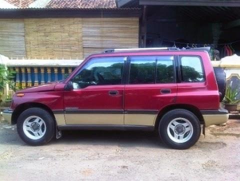 Daftar harga mobil suzuki escudo jlx bekas second tahun 2002 2003 2004 2005 1995 murah terbaru