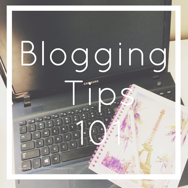 Blogging Tips from my favourite bloggers
