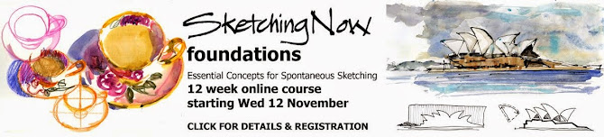 Online sketching class  : It has started but its not too late to join