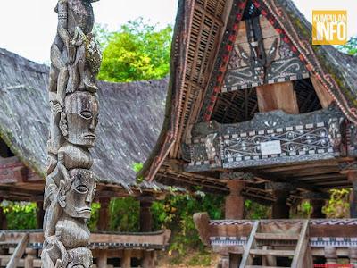 rumah adat danau toba