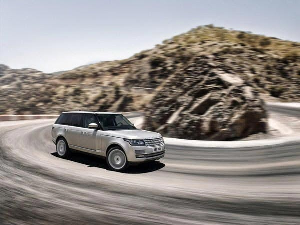 New 2014 Land Rover Range Rover Hybrid LWB Concept