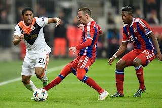 LDC - Le Bayern Munich écrase Donetsk 7 à 0