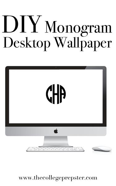 wallpaper free monogram desktop - photo #11