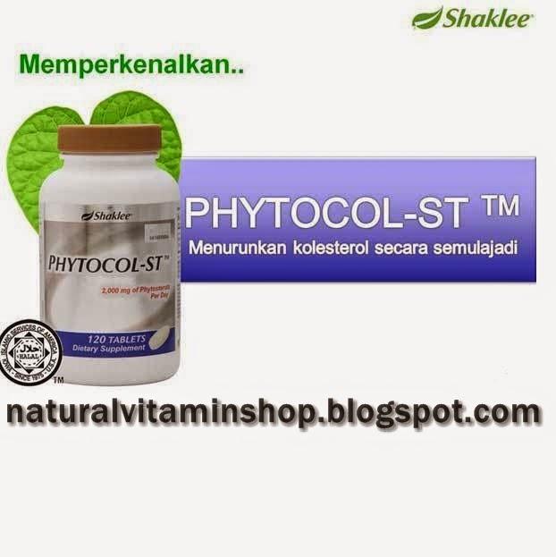 PhytoCol-ST Shaklee membantu menghalang penyerapan kolesterol
