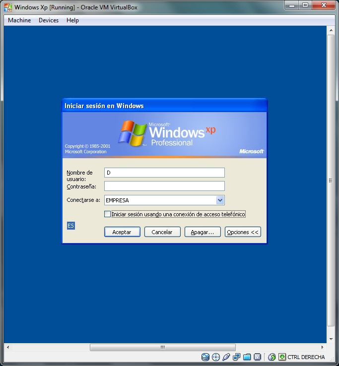 ProgDVB requires Microsoft. for XP, Vista, Windows Windows 2003 server.