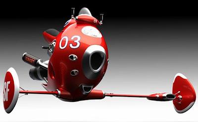 5 Desain Motor Terbang di Masa Depan