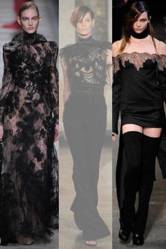 Gothic Catwalks at Paris Fashion Show