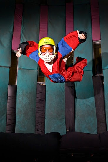 Learn to fly at  Flyaway Pigeon Forge, TN